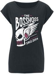 Flying Skull Girl Shirt