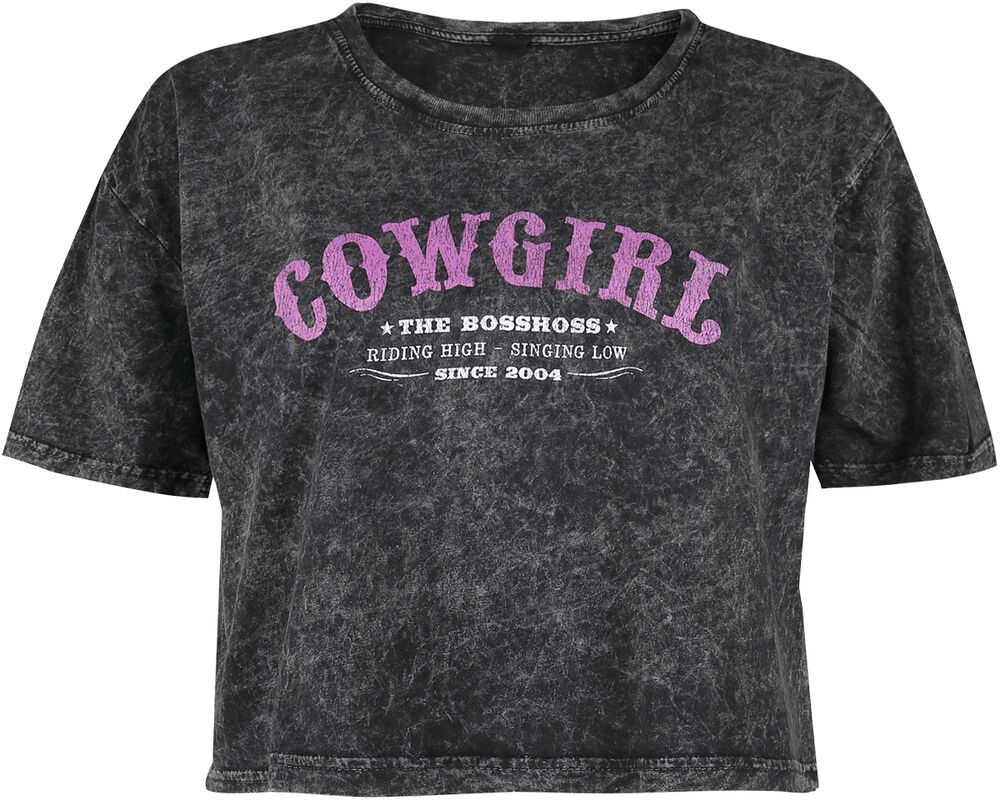 Vintage Cowgirl Cropped Shirt